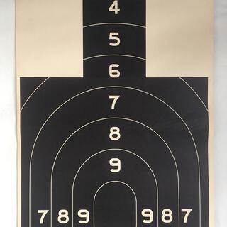 ダブルアールエル(RRL)のDeadstock 87's U.S.GPO(米国政府印刷局) 射撃訓練用の的(その他)