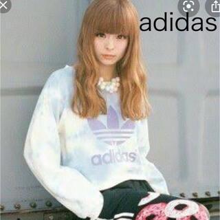 アディダス(adidas)のきゃりーぱみゅぱみゅ 松井珠理奈 島田晴香 着用 アディダス  トレーナー(トレーナー/スウェット)