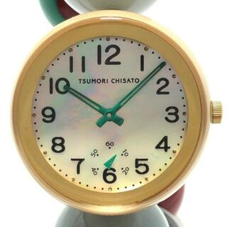 ツモリチサト(TSUMORI CHISATO)のツモリチサト 腕時計 - レディース(腕時計)