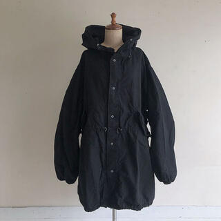 US ARMY SNOW CAMO PARKA BLACK スノーパーカー
