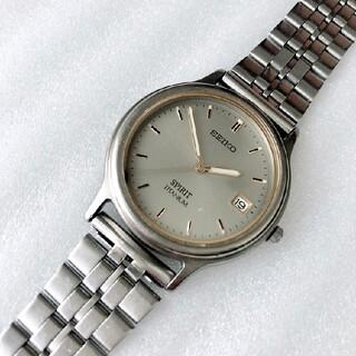 セイコー(SEIKO)のSEIKO  SPIRIT メンズクォーツ時計 ベルトフリーアジャスト 蓄光あり(腕時計(アナログ))