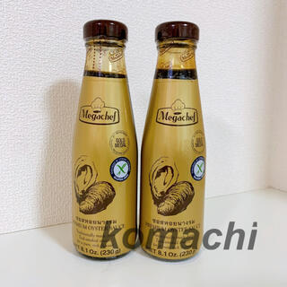 カルディ(KALDI)のメガシェフ オイスターソース2本(調味料)