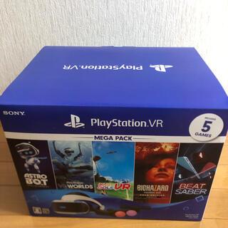 プレイステーションヴィーアール(PlayStation VR)の新品・未開封!!プレイステーション VR mega pack(家庭用ゲーム機本体)