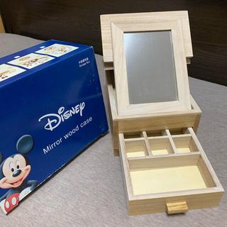 ミッキーマウス(ミッキーマウス)の【値引】ディズニー Mickey Minnie ミラーウッドケース(小物入れ)