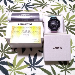 ベビージー(Baby-G)の残有保証書付☆Bluetooth CASIO Baby-G bsa-b100mt(腕時計)