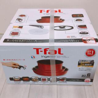 ティファール(T-fal)のティファール フライパン 鍋 6点セット(鍋/フライパン)