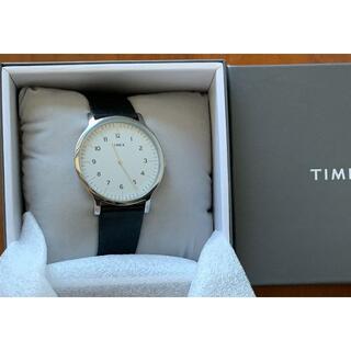 タイメックス(TIMEX)のTIMEX タイメックス ノルウェー TW2T66300 メンズ ブラック(腕時計(アナログ))