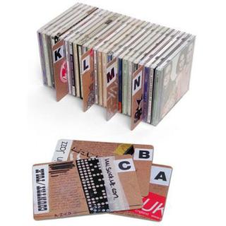 CD/レコード整理用札(ターンテーブル)