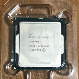 インテレクション(INTELECTION)のcpu i7-6700 みね専用(PCパーツ)