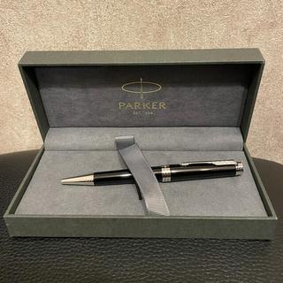 パーカー(Parker)のPARKER パーカー ボールペン プリミエ ラックブラックCT シルバー(ペン/マーカー)