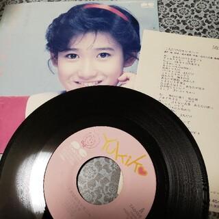 岡田有希子 シングルレコード「二人だけのセレモニー」(女性タレント)