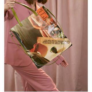 ラフシモンズ(RAF SIMONS)の[新品/即発送]film photo tote bag  #No.21 Gre(トートバッグ)