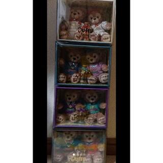 ダッフィー(ダッフィー)のディズニー☆ダッフィーコレクションドール4点セット(キャラクターグッズ)