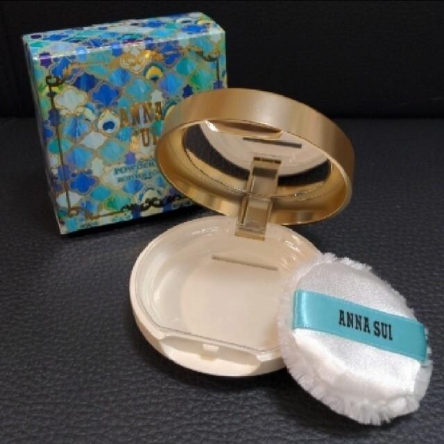ANNA SUI(アナスイ)の新品 アナスイ ブライトニングフェイスパウダーミニ ネイル ケア オイル 🎁付 コスメ/美容のベースメイク/化粧品(フェイスパウダー)の商品写真