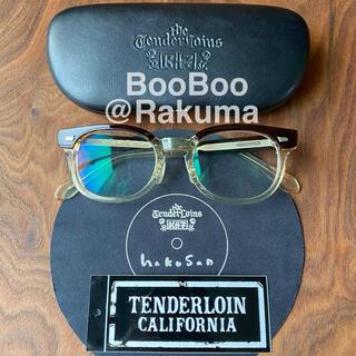 テンダーロイン(TENDERLOIN)のTENDERLOIN × 白山眼鏡店 T-JERRYS Brown/Clear(サングラス/メガネ)