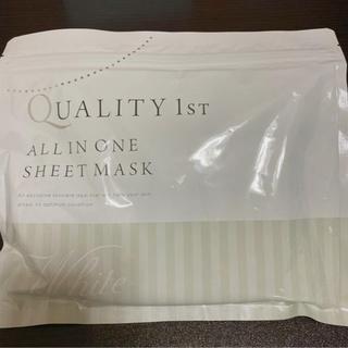 クオリティファースト(QUALITY FIRST)のオールインワンシートマスク ホワイト30 sp(パック/フェイスマスク)
