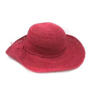 ヘレンカミンスキー(HELEN KAMINSKI)のヘレンカミンスキー HELEN KAMINSKI ラフィアハット 帽子 リボン(その他)