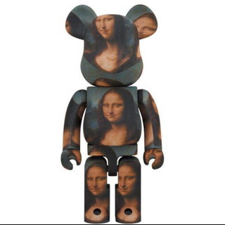メディコムトイ(MEDICOM TOY)のBE@RBRICK Mona Lisa 1000%  モナリザ ベアブリック(その他)