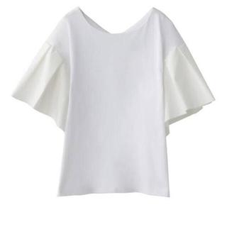ステュディオス(STUDIOUS)のクラネ  TUCK SLEEVE TOPS ホワイト clane(Tシャツ(半袖/袖なし))