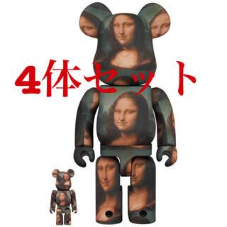 メディコムトイ(MEDICOM TOY)のyg5934様 BRICK Mona Lisa 100% & 400%×4セット(その他)