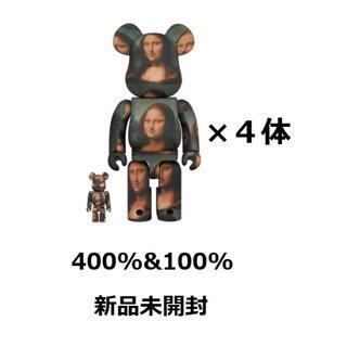 メディコムトイ(MEDICOM TOY)のBE@RBRICK Mona Lisa 100% & 400%(その他)