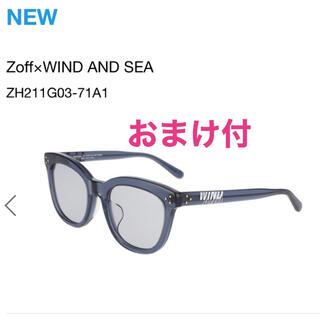 シー(SEA)のzoff windandsea サングラス グレー 新品未使用(サングラス/メガネ)