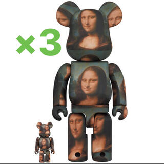 メディコムトイ(MEDICOM TOY)のBE@RBRICK Mona Lisa 100% & 400% ×3(その他)