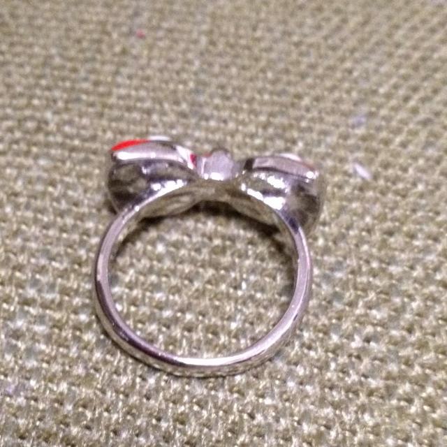 ミニーちゃんのようなリング レディースのアクセサリー(リング(指輪))の商品写真