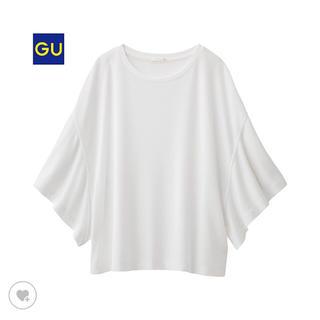 ジーユー(GU)のフレアスリーブT(5部袖)(Tシャツ(長袖/七分))