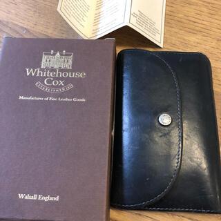 ホワイトハウスコックス(WHITEHOUSE COX)のWhitehouse Cox begin別注 3つ折り財布 ブライドルレザー(折り財布)