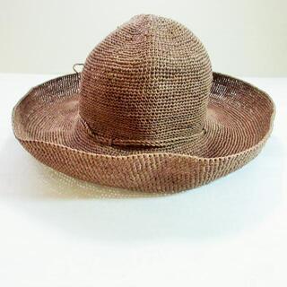 ヘレンカミンスキー(HELEN KAMINSKI)のヘレンカミンスキー 帽子 - ダークブラウン(その他)