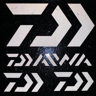 ダイワ(DAIWA)のダイワ カッティングステッカー 反射ホワイト 超防水 4枚セット(その他)