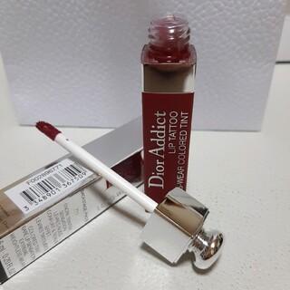 クリスチャンディオール(Christian Dior)の(ほぼ未使用)ディオール♡アディクト リップ ティント 771 ナチュラルベリー(口紅)
