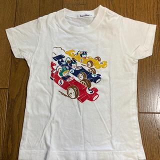 ファミリア(familiar)の【stellaさま専用】120 ファミリア レーサーおはなしTシャツ(Tシャツ/カットソー)