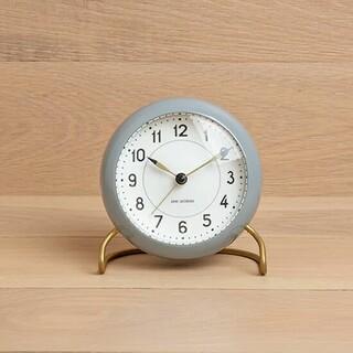 アルネヤコブセン(Arne Jacobsen)の【新品未使用】ARNE JACOBSEN アルネ ヤコブセン ステーション時計(置時計)