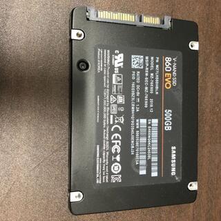 サムスン(SAMSUNG)のNAND SSD 500GB 860 EVO Samsung RKM-20(PCパーツ)