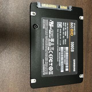 サムスン(SAMSUNG)のNAND SSD 500GB 860 EVO Samsung RKM-21(PCパーツ)