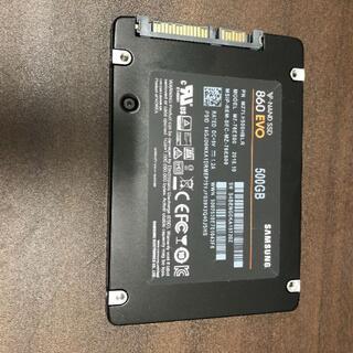 サムスン(SAMSUNG)のNAND SSD 500GB 860 EVO Samsung RKM-22(PCパーツ)