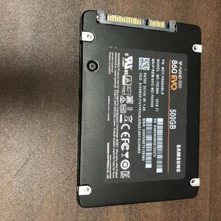 サムスン(SAMSUNG)のNAND SSD 500GB 860 EVO Samsung RKM-28(PCパーツ)