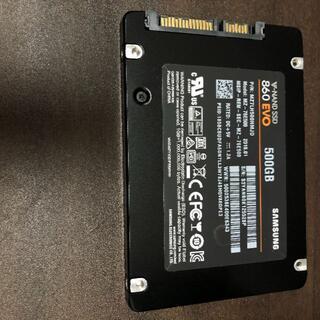 サムスン(SAMSUNG)のNAND SSD 500GB 860 EVO Samsung RKM-31(PCパーツ)