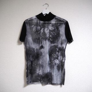 ジャンポールゴルチエ(Jean-Paul GAULTIER)のゴルチエ パワーネット シースルー Tシャツ 48(Tシャツ/カットソー(半袖/袖なし))