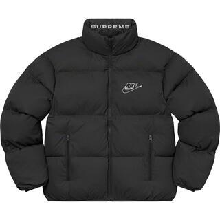 シュプリーム(Supreme)のL supreme Nike Reversible Puffy Jacket(ダウンジャケット)