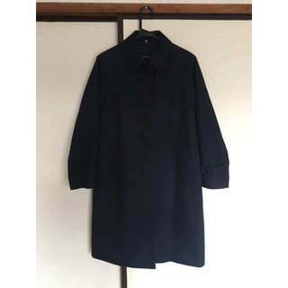 ムジルシリョウヒン(MUJI (無印良品))の無印良品 スプリングコート ネイビー 紺 S(スプリングコート)