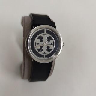 トリーバーチ(Tory Burch)のトリーバーチ レディース腕時計  黒 TRB4002(腕時計)