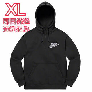 シュプリーム(Supreme)のXL Nike Half Zip Hooded Sweatshirt(パーカー)
