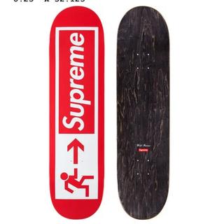 Supreme - supreme Exit Skateboard 赤