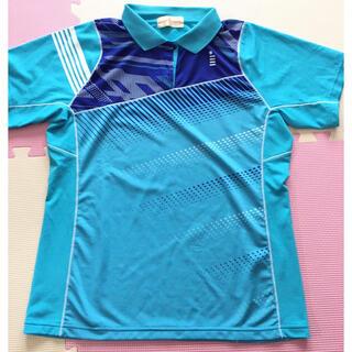 ゴーセン(GOSEN)のGOSEN ゴーセンス カイブルー シャツ 襟つき テニス スポーツ(ウェア)