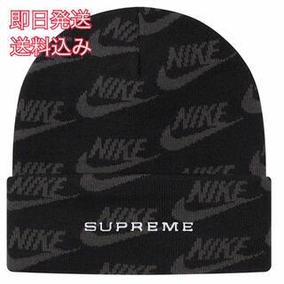 シュプリーム(Supreme)のsupreme Nike Jacquard Logos Beanie(ニット帽/ビーニー)