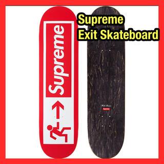 Supreme - 値下げ!Supreme Exit Skateboard シュプリーム red