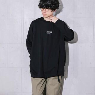 MBLR プリントオーバーサイズカットソー(Tシャツ/カットソー(七分/長袖))